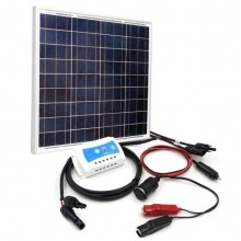 50W Solar Power Charging DIY Kit