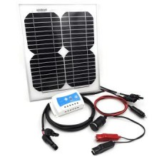 10W Solar Power Charging DIY Kit